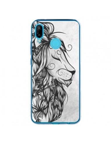 Coque Huawei P20 Lite Poetic Lion Noir Blanc - LouJah