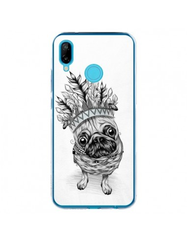 Coque Huawei P20 Lite Indian Dog Chien Indien Chef Couronne - LouJah