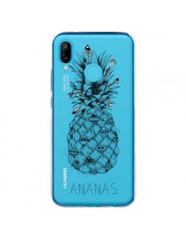Coque Huawei P20 Lite Ananas Fruit Transparente - LouJah