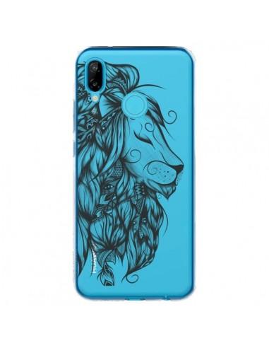 Coque Huawei P20 Lite Lion Poétique Transparente - LouJah