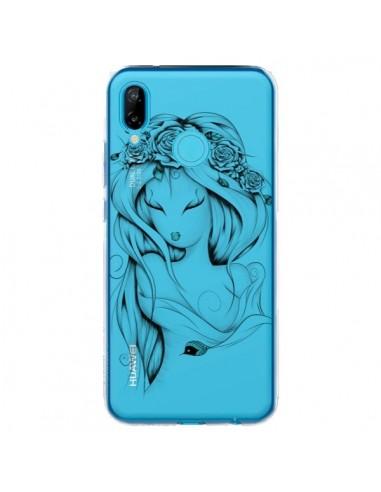 Coque Huawei P20 Lite Princesse Poétique Gypsy Transparente - LouJah