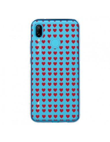 Coque Huawei P20 Lite Coeurs Heart...