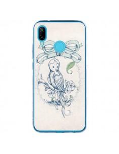 Coque Huawei P20 Lite Bird Oiseau Mignon Vintage - Lassana