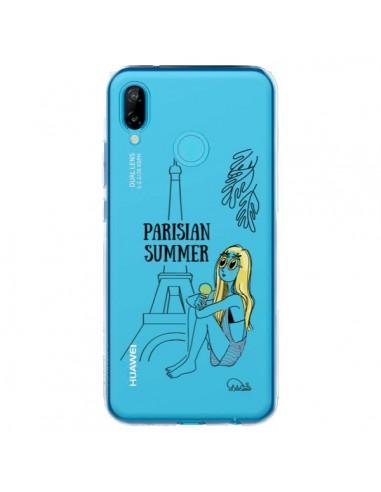 Coque Huawei P20 Lite Parisian Summer Ete Parisien Transparente - Lolo Santo