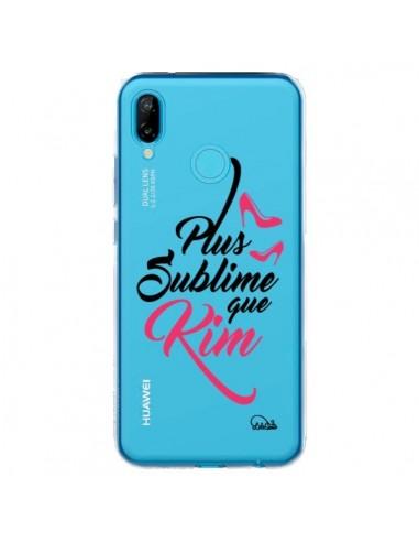 Coque Huawei P20 Lite Plus sublime que Kim Transparente - Lolo Santo
