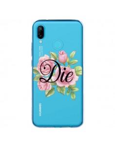 Coque Huawei P20 Lite Die Fleurs Transparente - Maryline Cazenave
