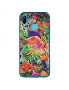 Coque Huawei P20 Lite Tropical Flamant Rose - Monica Martinez
