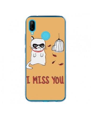 Coque Huawei P20 Lite Chat I Miss You - Maximilian San