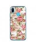 Coque Huawei P20 Lite Eco Love Pattern Bois Fleur - Maximilian San
