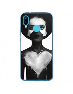 Coque Huawei P20 Lite Fille Coeur Hold On - Ruben Ireland