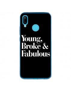 Coque Huawei P20 Lite Young, Broke & Fabulous - Rex Lambo