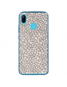 Coque Huawei P20 Lite A lot of cats chat - Santiago Taberna