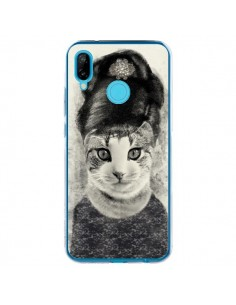 Coque Huawei P20 Lite Audrey Cat Chat - Tipsy Eyes