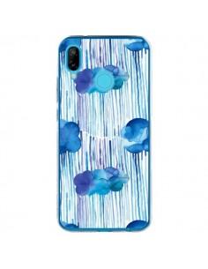 Coque Huawei P20 Lite Rain Stitches Neon - Ninola Design
