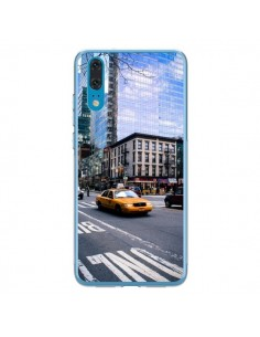 Coque Huawei P20 New York Taxi - Anaëlle François