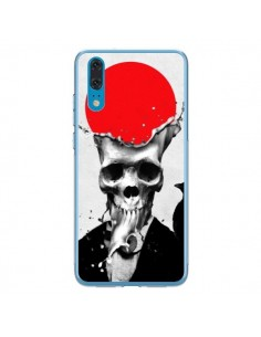 Coque Huawei P20 Splash Skull Tête de Mort - Ali Gulec