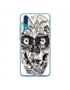 Coque Huawei P20 Tape Skull K7 Tête de Mort - Ali Gulec