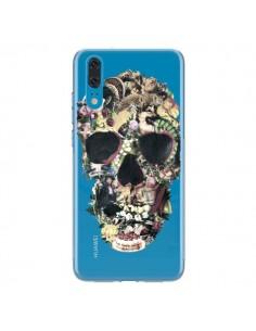 Coque Huawei P20 Skull Vintage Tête de Mort Transparente - Ali Gulec