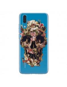Coque Huawei P20 Jungle Skull Tête de Mort Transparente - Ali Gulec