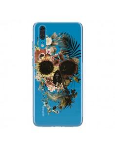 Coque Huawei P20 Garden Skull Tête de Mort Transparente - Ali Gulec