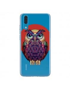Coque Huawei P20 Chouette Hibou Owl Transparente - Ali Gulec
