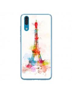 Coque Huawei P20 Paris Tour Eiffel Muticolore - Asano Yamazaki