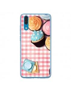 Coque Huawei P20 Petit Dejeuner Cupcakes - Benoit Bargeton