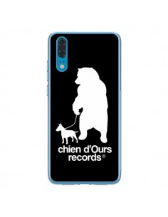 Coque Huawei P20 Chien d'Ours Records Musique - Bertrand Carriere