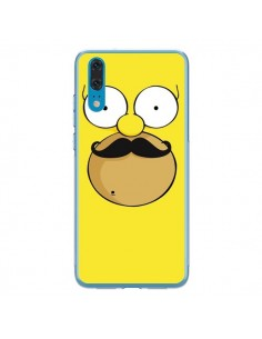 Coque Huawei P20 Homer Movember Moustache Simpsons - Bertrand Carriere