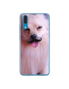 Coque Huawei P20 Clyde Chien Movember Moustache - Bertrand Carriere