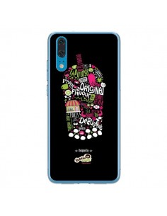 Coque Huawei P20 Bubble Fever Original Flavour Noir - Bubble Fever