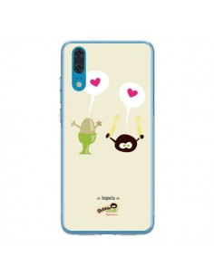Coque Huawei P20 Oeuf a la Coque Bubble Fever - Bubble Fever