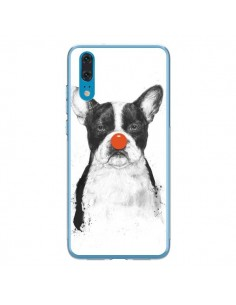 Coque Huawei P20 Clown Bulldog Chien Dog - Balazs Solti
