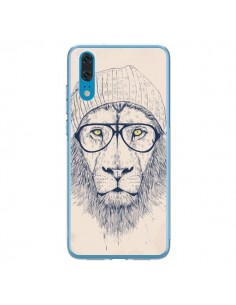 Coque Huawei P20 Cool Lion Lunettes - Balazs Solti