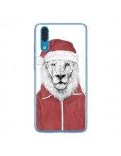 Coque Huawei P20 Santa Lion Père Noel - Balazs Solti
