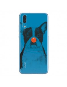 Coque Huawei P20 Clown Bulldog Dog Chien Transparente - Balazs Solti