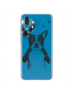 Coque Huawei P20 Love Bulldog Dog Chien Transparente - Balazs Solti