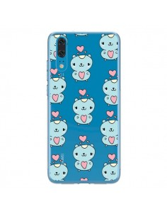 Coque Huawei P20 Hamster Love Amour Transparente - Claudia Ramos