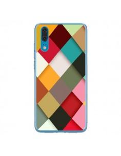 Coque Huawei P20 Colorful Mosaique - Danny Ivan