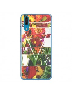 Coque Huawei P20 Facke Flowers Fleurs - Danny Ivan