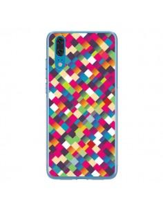 Coque Huawei P20 Sweet Pattern Mosaique Azteque - Danny Ivan
