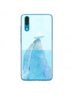 Coque Huawei P20 Baleine Whale Bateau Mer - Eric Fan
