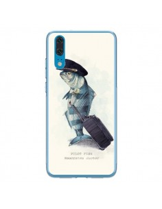 Coque Huawei P20 The Pilot Fish Poisson Pilote - Eric Fan