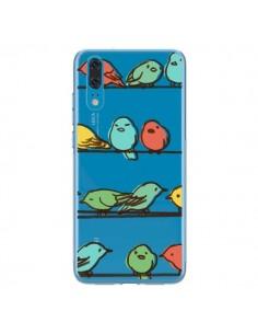Coque Huawei P20 Oiseaux Birds Transparente - Eric Fan