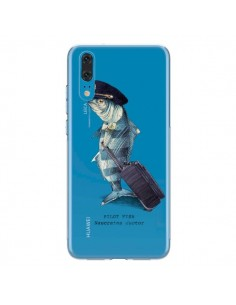 Coque Huawei P20 Pilot Fish Poisson Pilote Transparente - Eric Fan