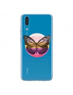 Coque Huawei P20 Papillon Butterfly Transparente - Eric Fan