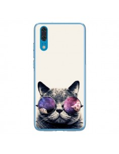 Coque Huawei P20 Chat à lunettes - Gusto NYC
