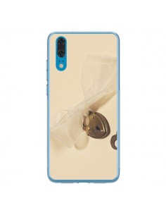 Coque Huawei P20 Key to my heart Clef Amour - Irene Sneddon