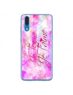 Coque Huawei P20 Je t'aime I Love You - Ebi Emporium