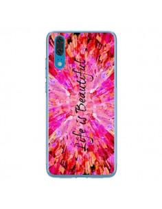 Coque Huawei P20 Life is Beautiful - Ebi Emporium